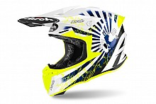 Kask Airoh Twist 2.0 Katana Yellow Gloss XL