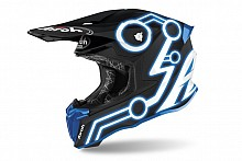 Kask Airoh Twist 2.0 Neon Blue Matt S