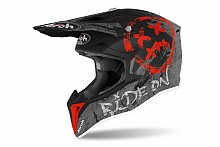 Kask Airoh Wraap Smile Red Matt XL